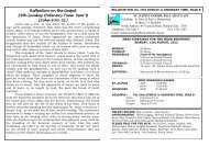 Weekly Bulletin for 13th August - Catholic Diocese of Ballarat