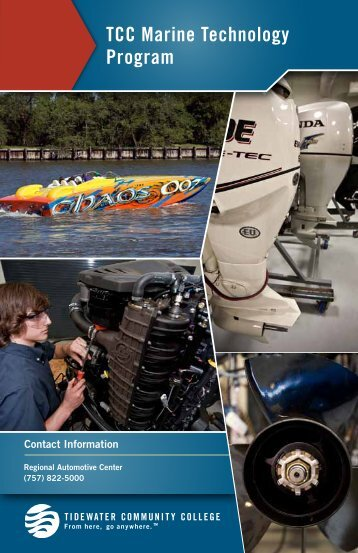 Marine Technology Booklet - Tidewater Community College