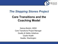 Stepping Stones Care Transitions Project PowerPoint Presentation