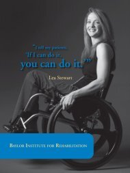 "you can do it.'"" - Baylor Health Care System"