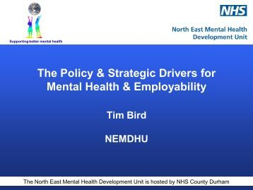 Achieving Welfare Reforms.15.9.11.Tim Bird.pdf - MHFE