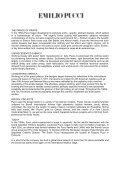 EMILIO PUCCI - A FASHION REVOLUTION EMILIO ... - Altagamma - Page 2
