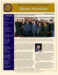 WGU Alumni Newsletter March FINAL.pub - WGU Alumni Community