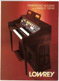 Symph nic holiday - Lowrey Organ Forum