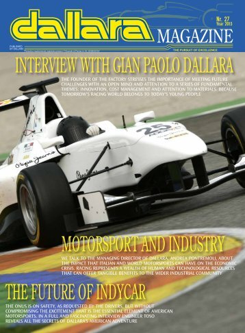 the future of indycar interview with gian paolo dallara ... - Italiaracing