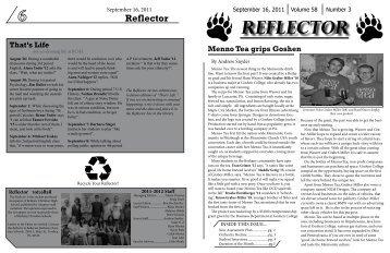 Reflector - Bethany Christian Schools