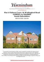Flat 2 Chiltern Court, 30 Wallingford Road GORING ... - Warmingham