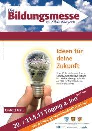 Ideen für deine Zukunft Eintritt frei! - Landratsamt Altötting