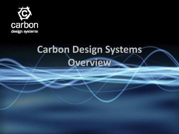 Carbon Design Systems Overview - OCP-IP