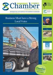 Business Must have a Strong Local Voice - Somerset Chamber of ...