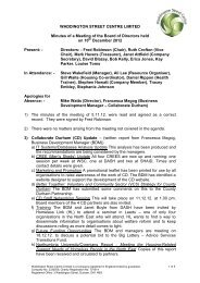 Minutes of meeting held on 10th December 2012 - Waddington ...