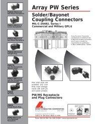 PDF-ARRAY PW SERIES-QX - Array Connector Corporation