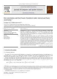 Fast convolution and Fast Fourier Transform under interval and ...
