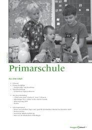Aus dem Schulalltag - Primarschule Henggart