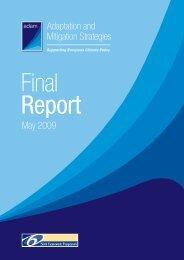 ADAM final report