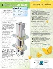 MRL Genius - Global Tardif Groupe manufacturier d'ascenseurs
