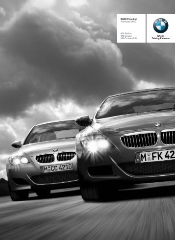 M Series Feb 2007 - BMW