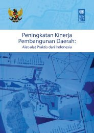 Peningkatan Kinerja Pembangunan Daerah - UNDP