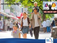 Jahresplanung2012 - Kiel Marketing