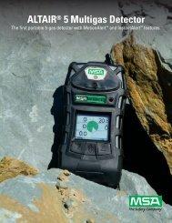 ALTAIR® 5 Multigas Detector