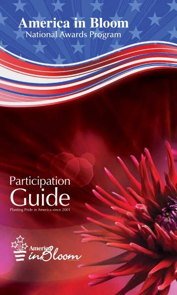 Read the participation guide - America in Bloom