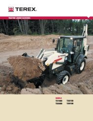 tractor loader backhoes