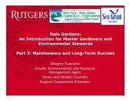 Rain Gardens - Rutgers Cooperative Extension Water Resources ...