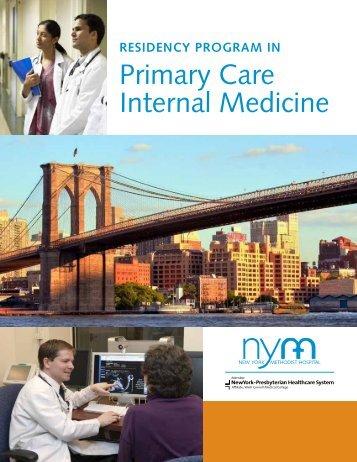 Primary Care Internal Medicine - New York Methodist Hospital