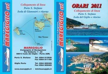 Bozza Maregiglio - Turismo in Toscana
