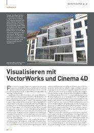 Visualisieren mit VectorWorks und Cinema 4D - koelncad.de
