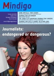 Mindigo - European Youth Media Days