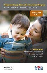 Optional Group Term Life Insurance Program - TN.gov