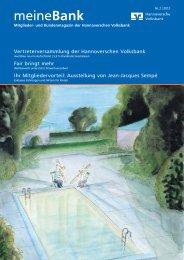 meineBank - Hannoversche Volksbank eG