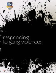 responding to gang violence: - American Probation and Parole ...