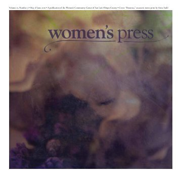 Volume 25, Number 3 • May & June 2010 • A ... - Women's Press