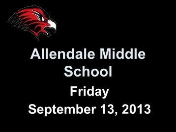 Daily Announcements - Allendale Public Schools