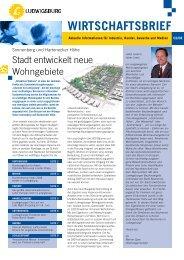 WIRTSCHAFTSBRIEF - Stadt Ludwigsburg
