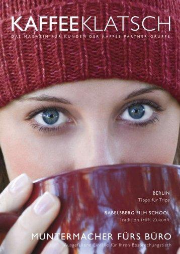 muntermacher fürs Büro - Kaffee Partner