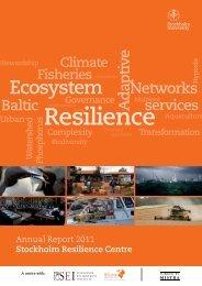 Annual Report 2011 - Mistra