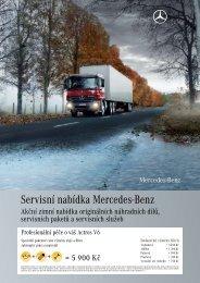 Servisní nabídka Mercedes-Benz