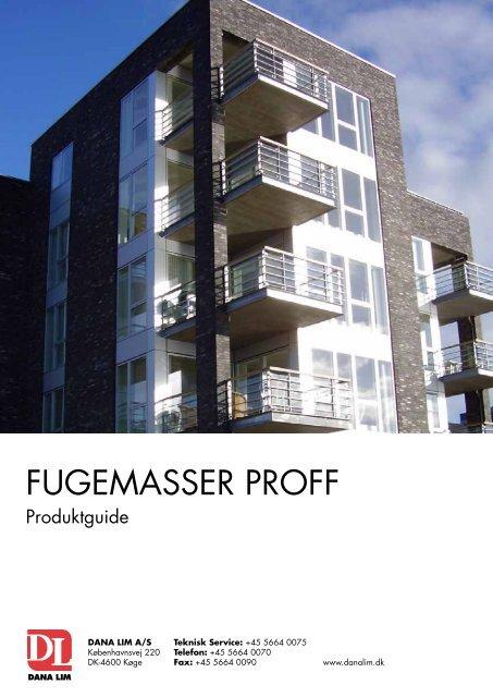 Fugemasser ProFF - Dana Lim A/S