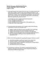 The AAEM Emergency Medicine Written Board Review Course