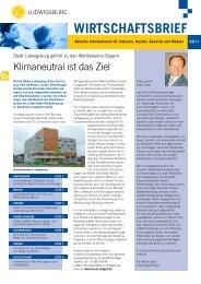 Wirtschaftsbrief 2/2011 - Stadt Ludwigsburg