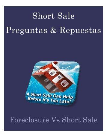 Short Sale Preguntas & Repuestas