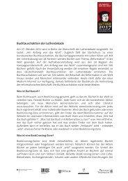 Buchtauschaktion der Lutherdekade - 500 Jahre Reformation