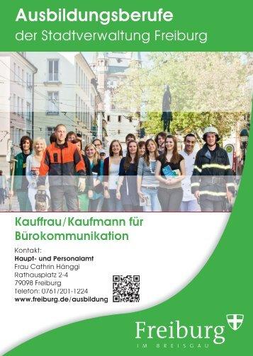 Ausbildungsberufe - Stadt Freiburg im Breisgau