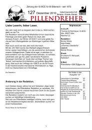 Pillendreher Ausgabe 127 Dezember 2010 - IGBCE Biberach