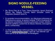 SIGNO NODULE-FEEDING VESSEL - Congreso SORDIC