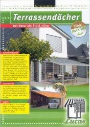 Terrassendach komplett - Lucas Fenster