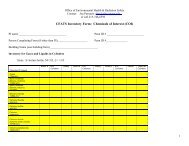 CFATS Inventory Form: List of Chemicals of Interest (COI) [PDF]